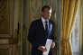 Le président Emmanuel Macron au palais de l'Elysée, à Paris le 27 juin.
