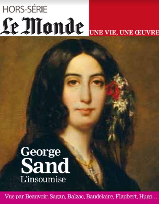 """Résultat de recherche d'images pour """"le monde hors série george sand"""""""