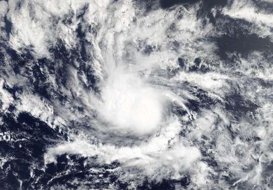 Une image satellite de Beryl, le 6 juillet.