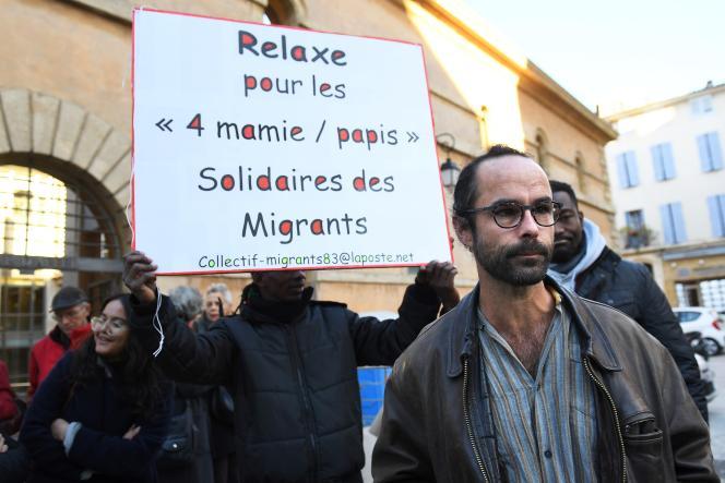 Cédric Herrou, à Aix-en-Provence (Bouches-du-Rhône), le 15 novembre 2017.