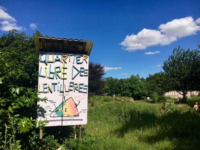 En 2010, une centaine de personnes décident de défricher et d'occuper illégalement les dernières terres maraîchères en friche de la ville de Dijon.