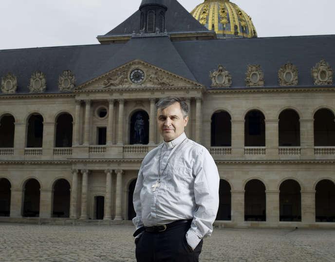 Antoine de Romanet, aux Invalides, à Paris, le 5 juillet 2018.