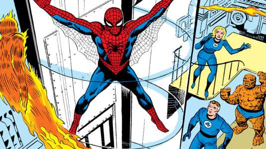 Stephen Ditko avait imaginé le fameux personnage de Peter Parker et son costume bleu et rouge de Spiderman, avec ses lanceurs de toile.