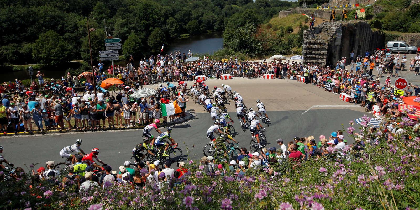 La deuxième étape du Tour de France.