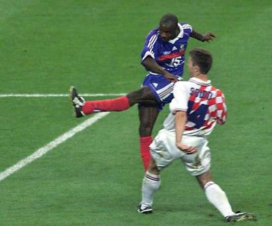 Les deux seuls buts de Lilian Thuram en équipe de France ont permis aux Bleus de se hisser en finale.