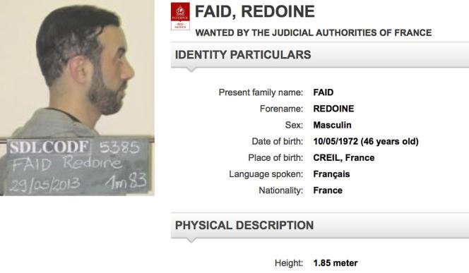 Une centaine de policiers spécialisés de la police judiciaire sont mobilisés dans la traque de Redoine Faïd, qui s'était déjà échappé de la prison de Lille-Sequedin en 2013 avant d'être repris, six semaines plus tard, en banlieue parisienne.