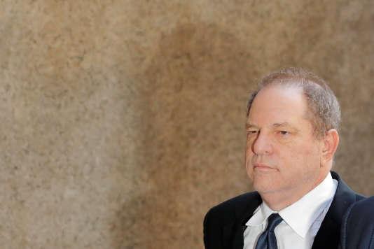 Harvey Weinstein au tribunal de Manhattan, le 9 juillet 2018.