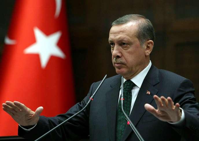 Le président Recep Tayyip Erdogan– ici en juin 2013– prêtera serment lundi9juillet avant une cérémonie au palais présidentiel.