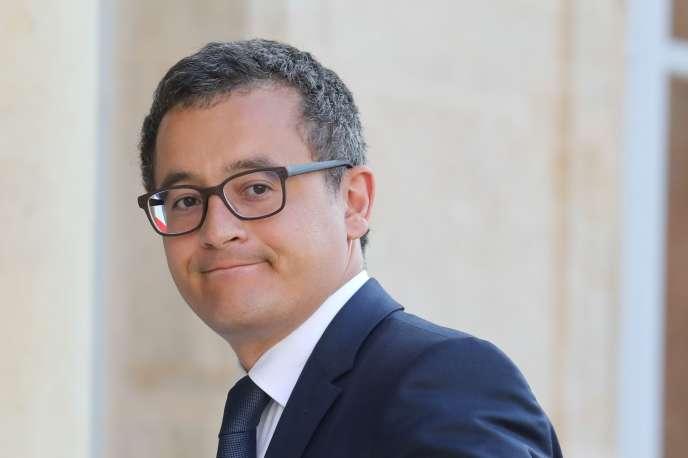 Gérald Darmanin, en juin 2018 à Paris.