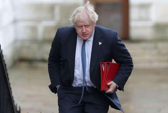 Boris Johnson en mars 2018.