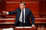 Le président Emmanuel Macron à Versailles le 9 juillet.