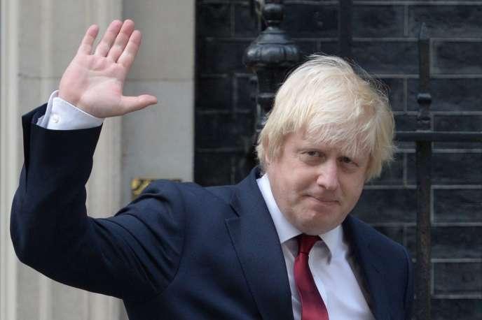 Boris Johnson, à Londres, en 2016.
