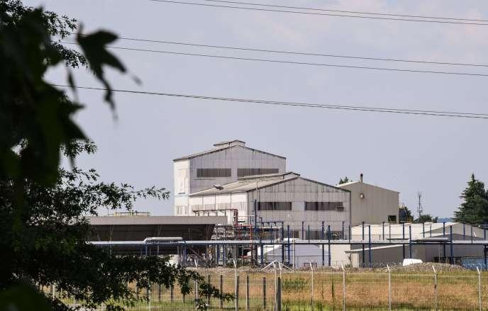 L'usine de Sanofi, à Mourenx, le 9 juillet 2018.