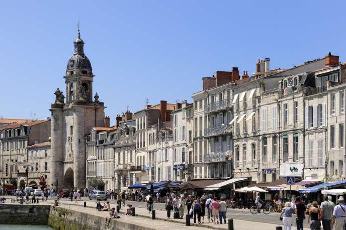 Le quai Duperre, La Rochelle, Charente-Maritime, France.