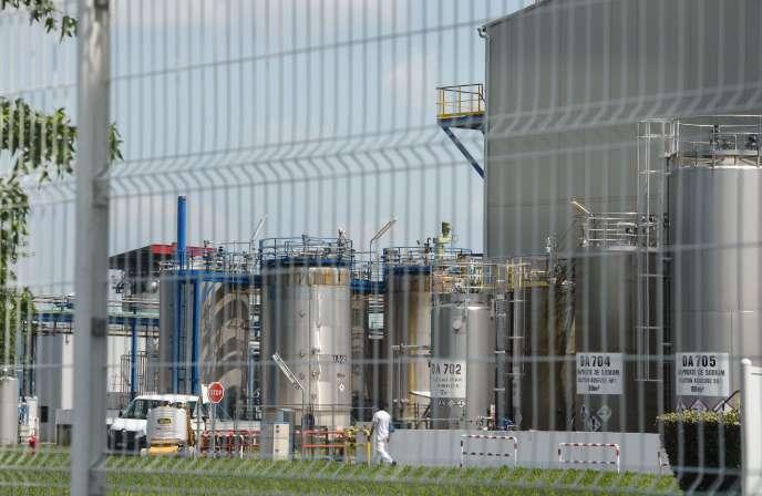 L'usine Sanofi à Mourenx.