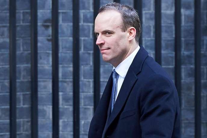 Dominic Raab, qui était jusqu'ici secrétaire d'Etat chargé du logement, est le nouveau ministre du Brexit.