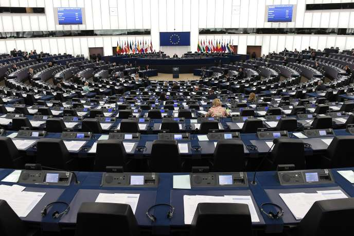 Le Parlement européen à Strasbourg, en mars.