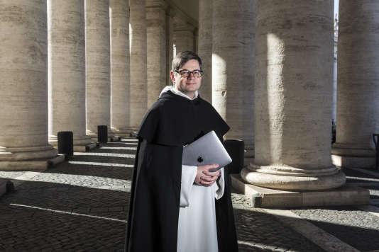 Frère Eric Salobir, le prêtre qui connecte le pape à la Silicon Valley