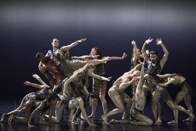 «Kreatur», création de la chorégraphe allemande Sasha Waltz, à l'Opéra Confluence à Avignon, jusqu'au 14 juillet.