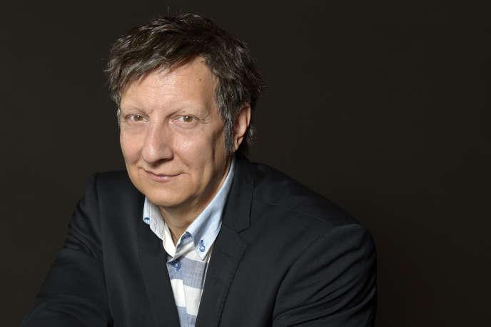 L'auteur-acteur-metteur en scène québécois Robert Lepage à Paris en septembre 2015.