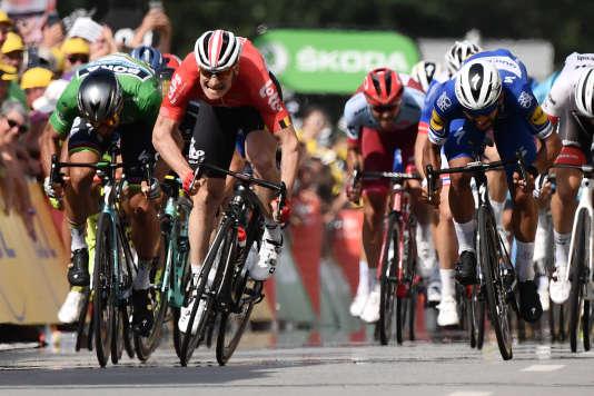 Fernando Gaviria, vainqueur de la quatrième étape du Tour de France.