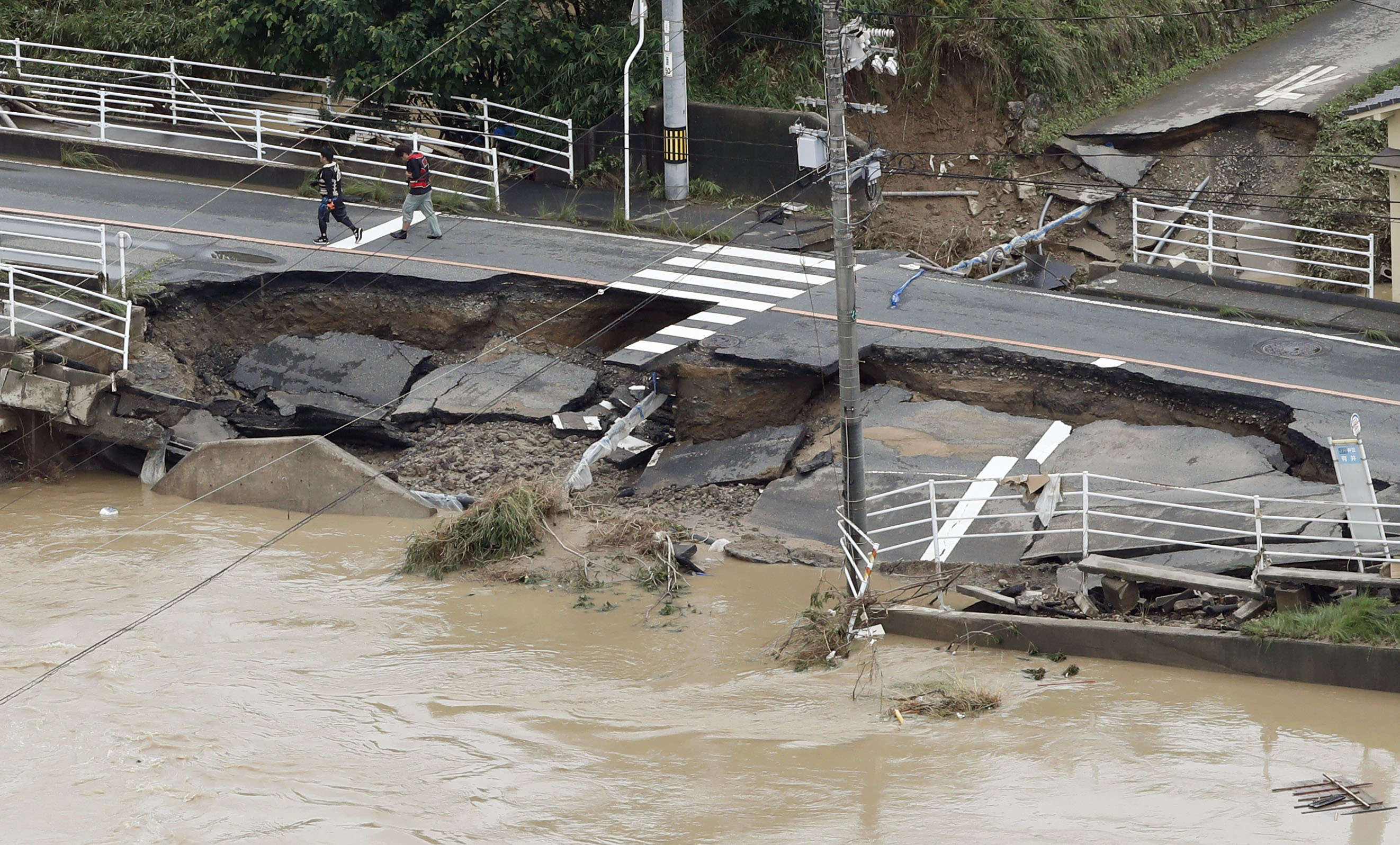 Des records de pluviométrie ont été enregistrés en soixante-douze heures dans 118 points d'observation répartis dans une quinzaine de préfectures.