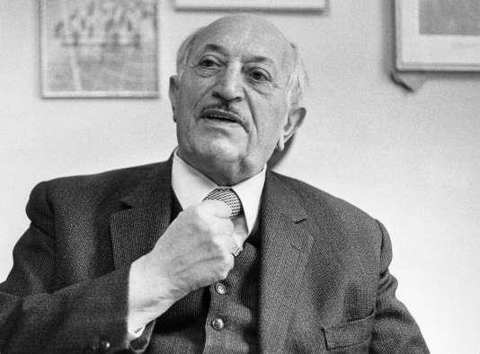 Simon Wiesenthal, à Vienne, dans les années 1970.
