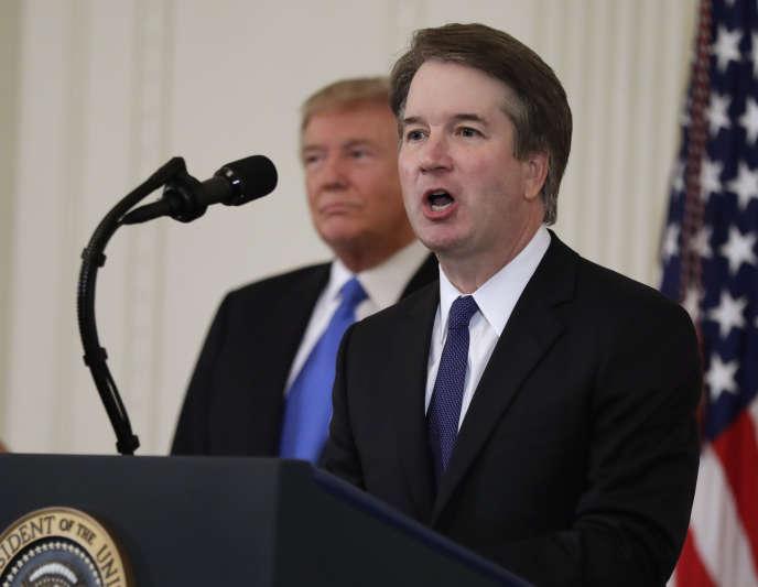 Brett Kavanaugh– ici le 9 juillet 2018–, le candidat choisi par Donald Trump pour la Cour suprême, n'est pas vraiment un défenseur de l'Internet libre.