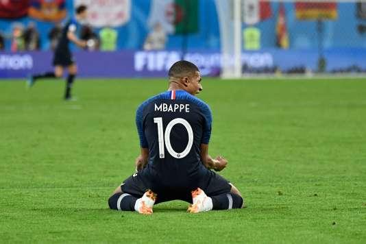 A 19 ans, Kylian Mbappe est en finale de la Coupe du monde.