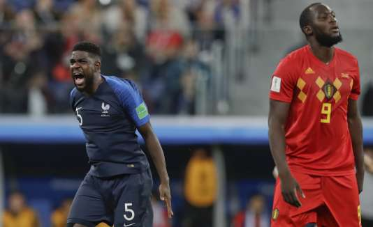Samuel Umtiti a inscrit le seul but des Bleus face à la Belgique.