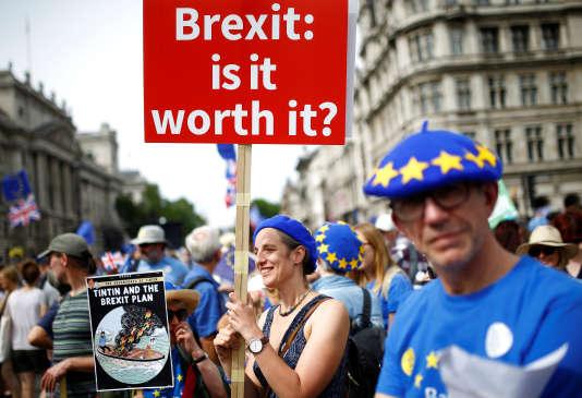 A Londres, le 23 juin.