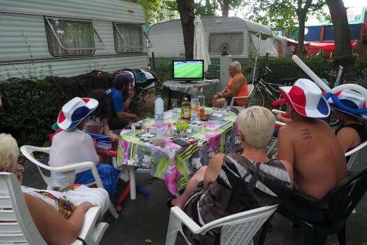 La demi-finale contre la Belgique, mardi 10 juillet, a réuni un peu plus de 19 millions de spectateurs, soit 71 % de part d'audience, selon les chiffres publiés par TF1.