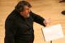 Le compositeur et chef d'orchestre britannique Oliver Knussen en septembre 2008.