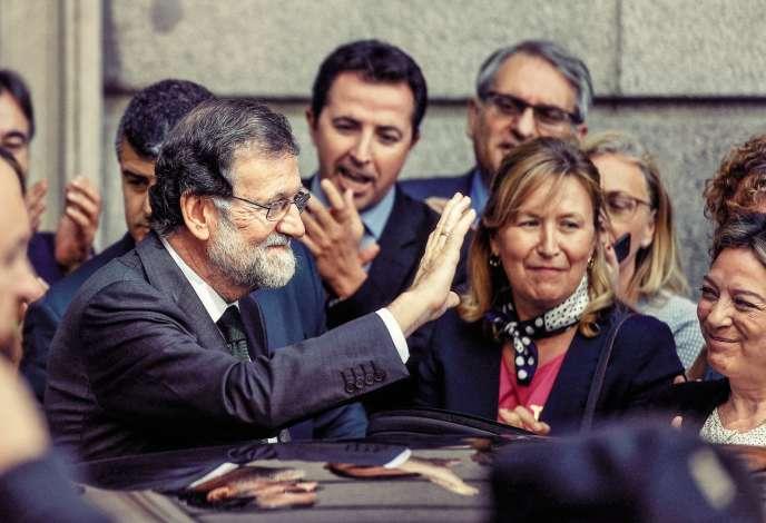Mariano Rajoy, l'ancien chef conservateur du gouvernement espagnol, avait été renversé par le Parlement, le 1er juin 2018, après plus de six ans au pouvoir.