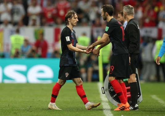 Sur les rotules,Luka Modric aura attendu la 118e minute de jeu avant de sortir.