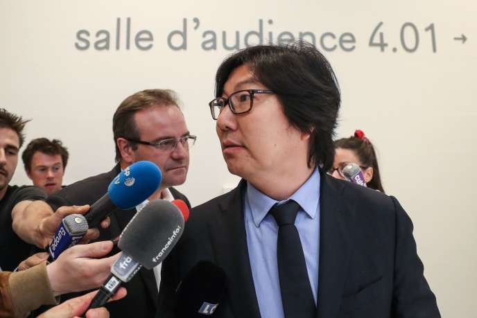 Jean-Vincent Placé au tribunal correctionnel de Paris, le 11 juillet.