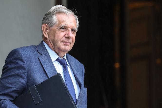 Jacques Mézard, le ministre de la cohésion des territoires, à l'Elysée, le 12 juin.