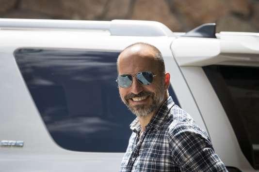Le directeur général d'Uber, Dara Khosrowshahi, à Sun Valley dans l'Idaho, le 10 juillet 2018.