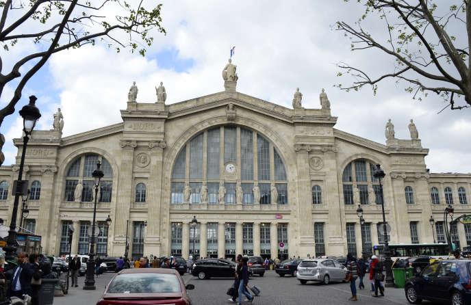 La façade de la gare du Nord, à Paris, le 18 avril 2014.