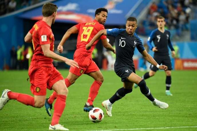 Match France/Belgique, mardi 10 juillet.