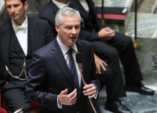 Le ministre de l'économie, Bruno Le Maire, a annoncéune baisse de 400 millions d'euros des crédits aux CCI d'ici 2022.