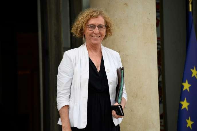 La ministre du travail, Muriel Pénicaud, à l'Elysée le 11 juillet.
