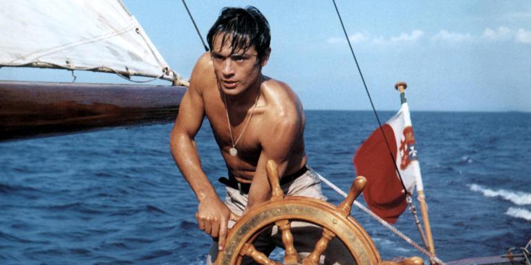 Prod DB © Pari films DR PLEIN SOLEIL (PLEIN SOLEIL) de Rene Clement 1960 FRA / ITA avec Alain Delon  mer, bateau, naviguer