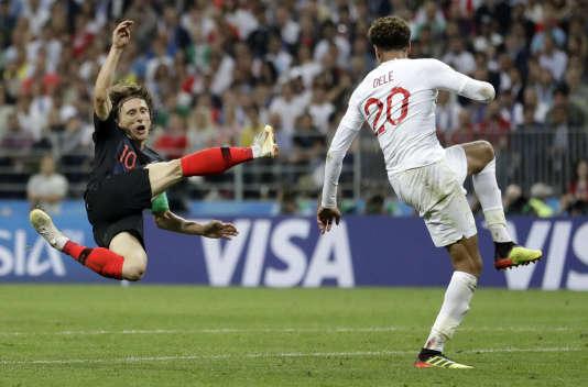 Luka Modric a encore une fois tout donné avec la Croatie.