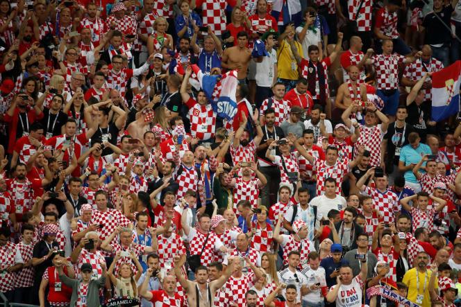Au stade Loujniki de Moscou, le 11 juillet.