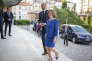 Le premier ministre, Edouard Philippe, et la ministre chargée des affaires européennes, Nathalie Loiseau, arrivent à la Conférence des territoires, à Paris, jeudi 12 juillet.