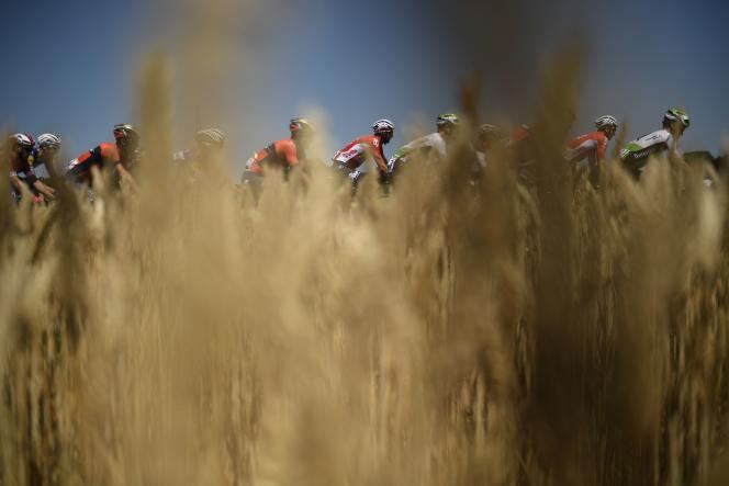 Etape du Tour de France entre Brest et Mûr-de-Bretagne, le 12 juillet.