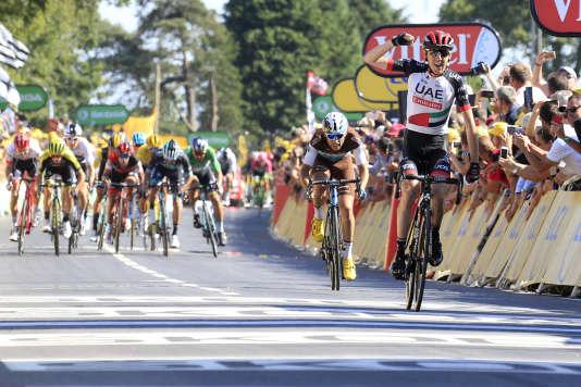 Dan Martin a remporté sa seconde victoire sur le Tour de France.