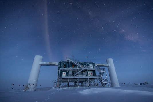 Les locaux d'IceCube, au pôle Sud.