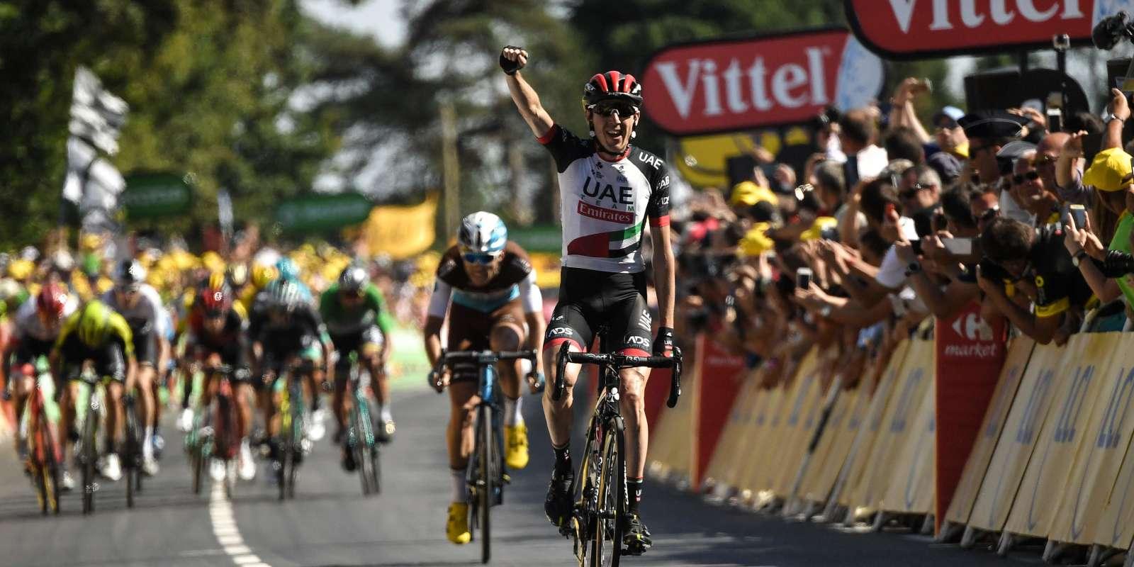 Dan Martin a remporté sa deuxième victoire sur le Tour de France.